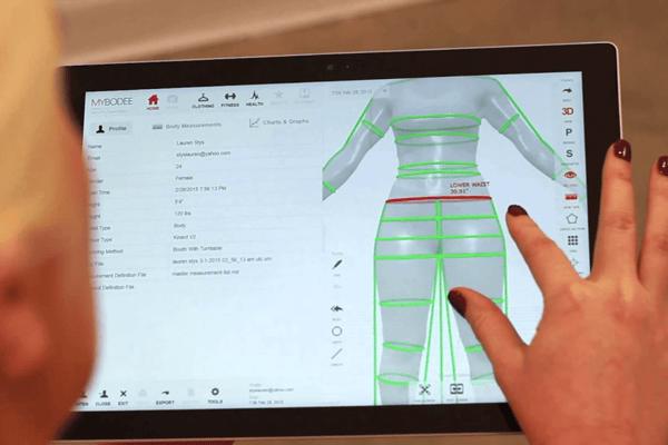 3D Body Scanner Studies