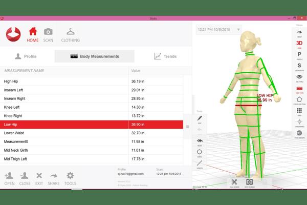 Understanding Styku Scanner Results