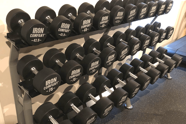 Iron Company's real best-sellers are their free weights
