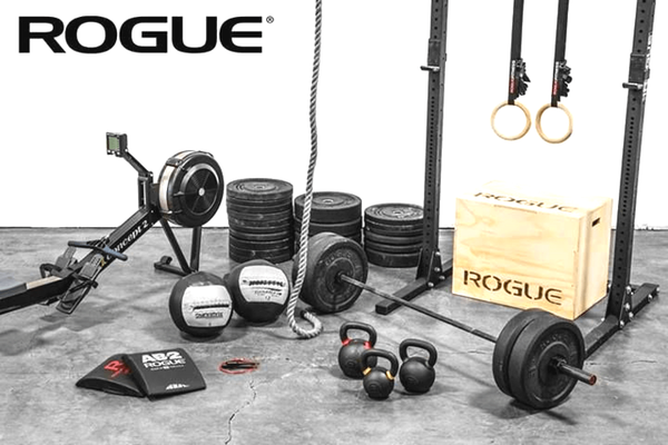 Rogue Fitness is the place to go if you're looking to outfit your new Crossfit box