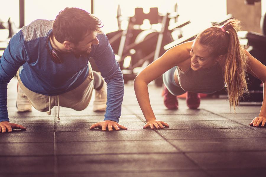 push ups body transformation