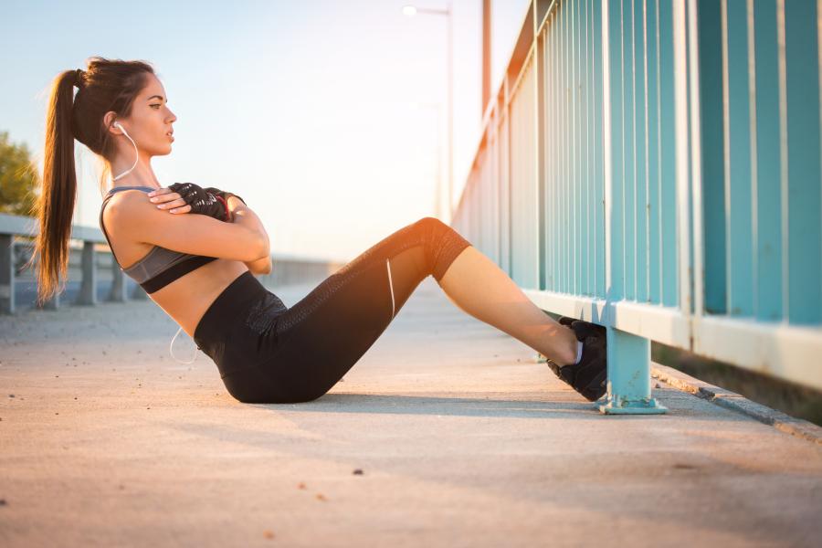 sit ups body transformation