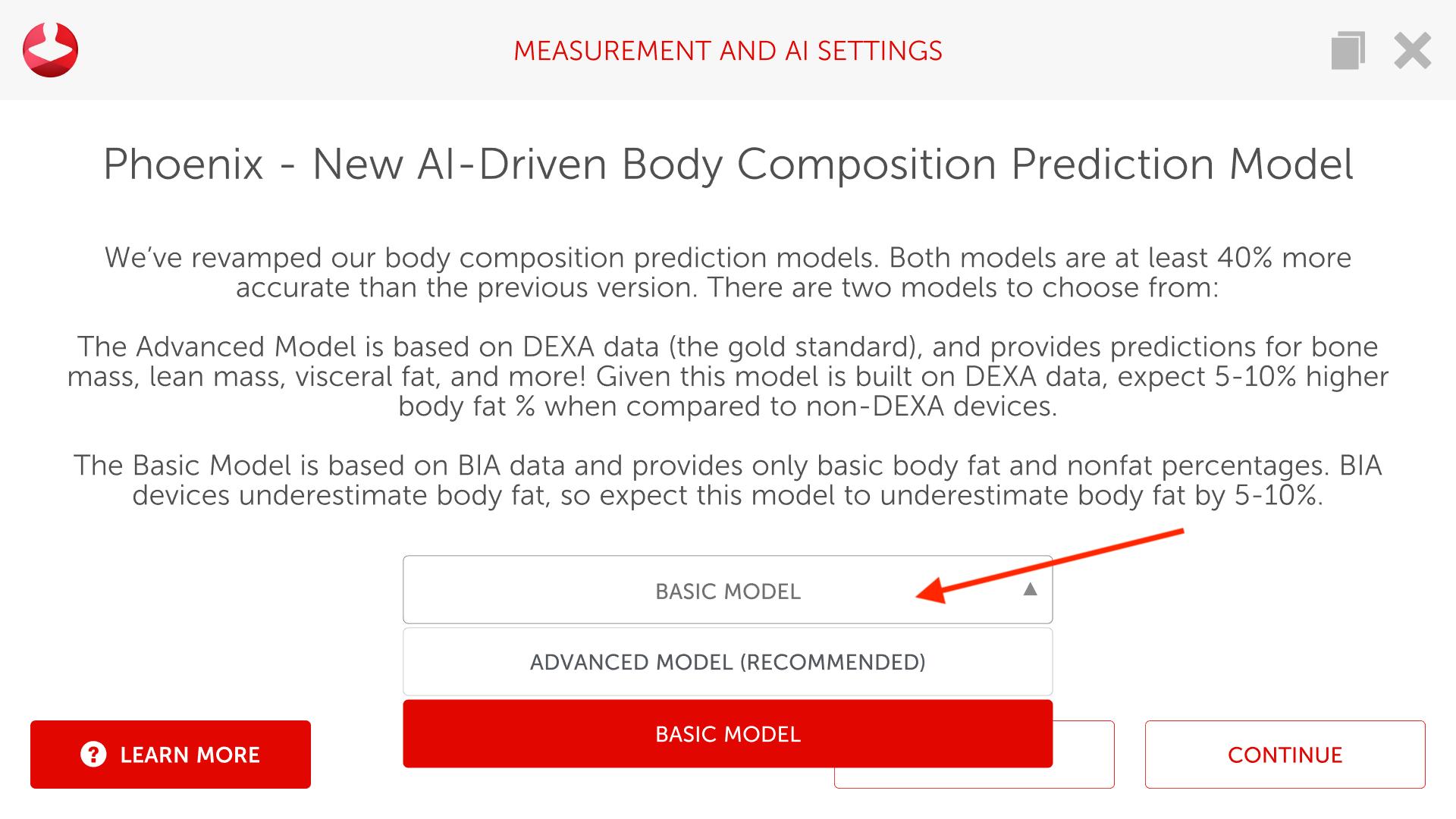 Changing Models